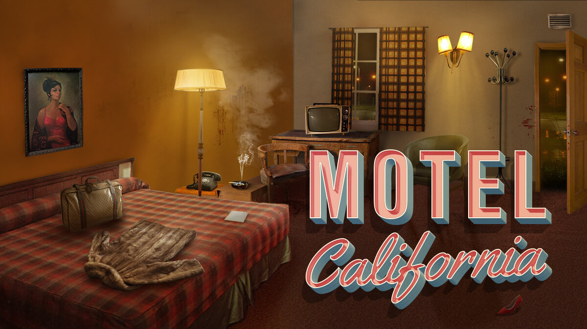 Motel California - Murder Mystery themed escape room game