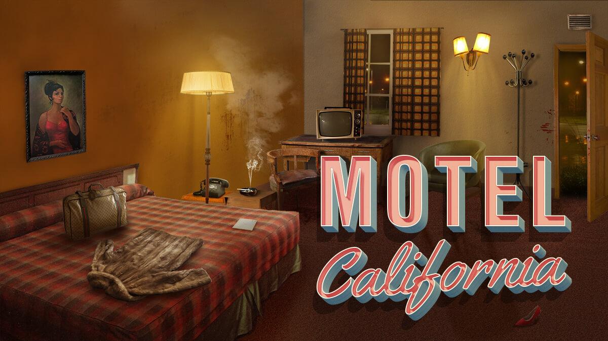 Motel California - Murder Mystery themed escape room game
